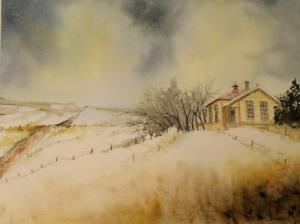 """watercolour, Arches 140 lb. Cold Press, 8"""" x 10"""", private collection"""