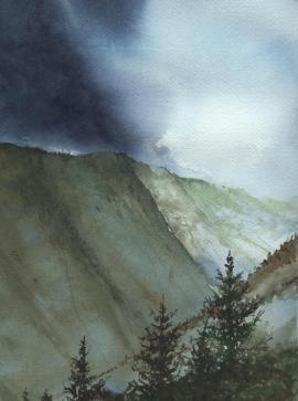 'Mountain Storm'